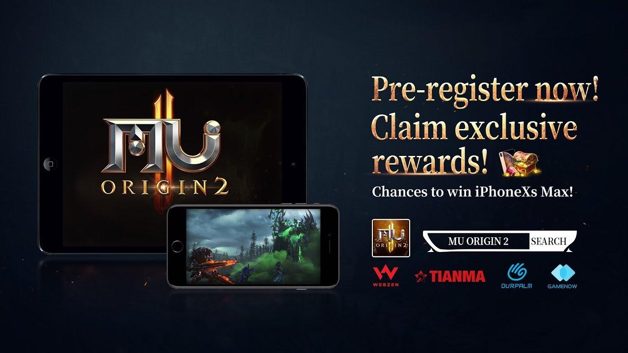mu origin 2 mobile gift code