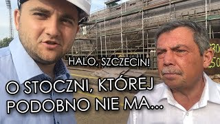 Dariusz Matecki i mec. Sochański w Stoczni Szczecińskiej! PO zarzuca, że nie buduje się tu statków.