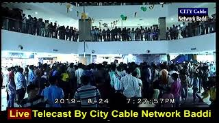 Live Telecast By City Cable Newtwork Baddi