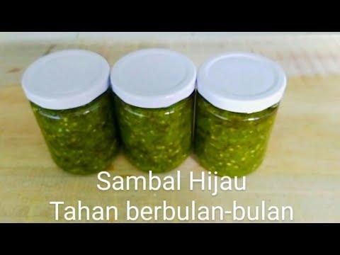 cara-membuat-sambal-hijau-botol-tahan-berbulan-bulan,cocok-untuk-stok-sambal-dan-usaha