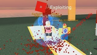 Roblox Exploiting - Death of Myo Cafe