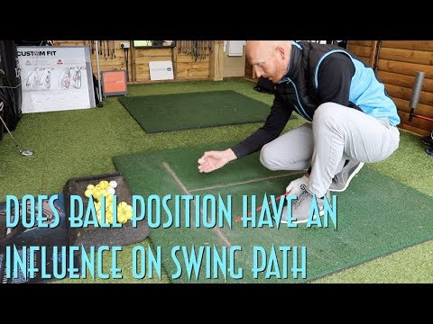 does-golf-ball-position-influence-swing-path?