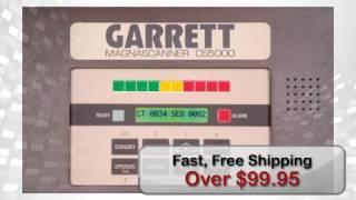 Garrett Magnascanner CS 5000 Security Metal Detector - metaldetector.com