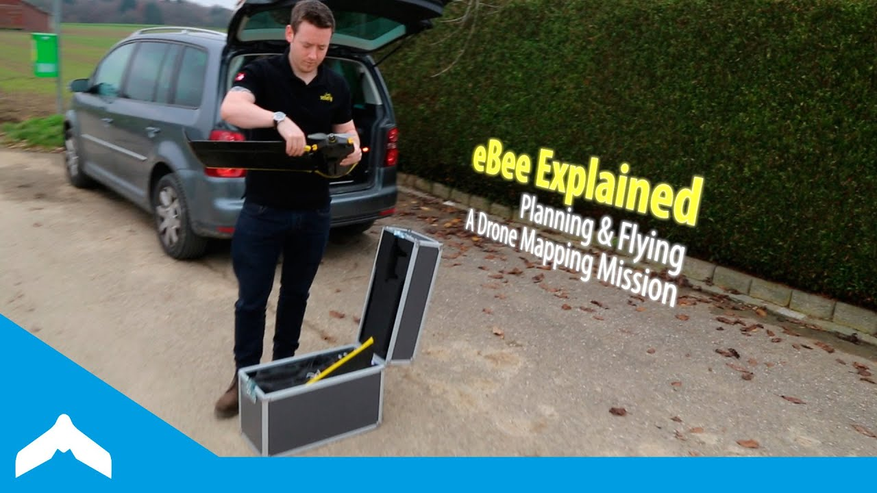 eBee Explained — Planning & Flying A Drone Mapping Mission - YouTube