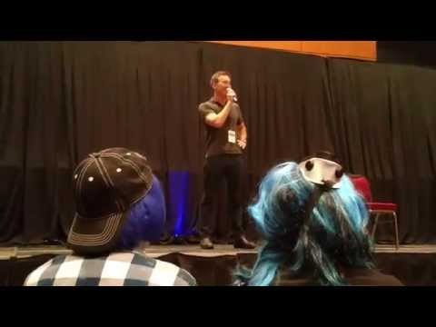 Dameon Clarke Q&A Panel  Realms Con 2015 Part 1
