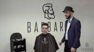 Глина для укладки волос BARBARO