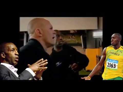 Michael Johnson analyzes Usain Bolt's sprinting  Athletics / 100m