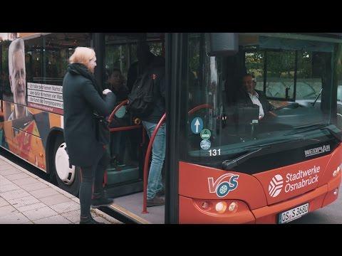 Ein Tag als Busfahrer in Osnabrück