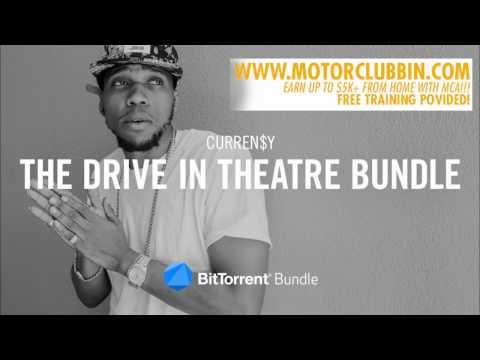 CURRENSY THE DRIVE IN THEATRE FULL MIXTAPE  BUNDLE