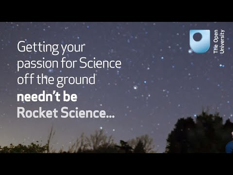 Study Science at the OU