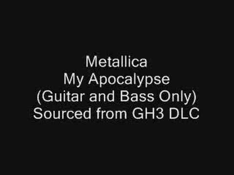 Metallica - My Apocalypse (Guitar and Bass ONLY)