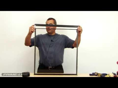 How-To: Replace slide bolts in a storm window.