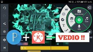 Top video editing kinemaster tutorial - pixel lab and kinemaster tutorial _ thumbnail making