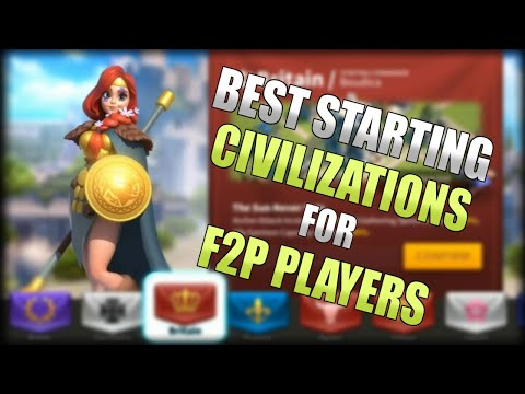 Best Starting Civs for Beginning F2P Players | Rise of Kingdoms