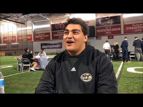 Tommy Togiai on enrolling early - ELEVENWARRIORS.COM