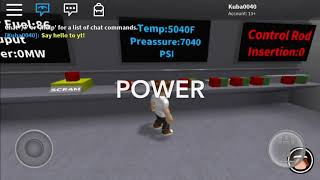 Kernkraftwerk - Roblox Spiel Announcment