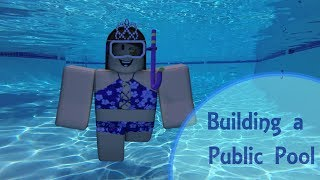 Building a Public Pool | Roblox Studio