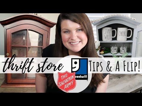 My Top 3 Thrift Store Tips & A Flip! | Thrift Store Transformation