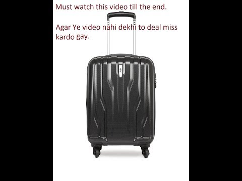 Unboxing Skybag || Marshal Spinner Hard Trolley 81 CM ||  must watch || latest video 2018