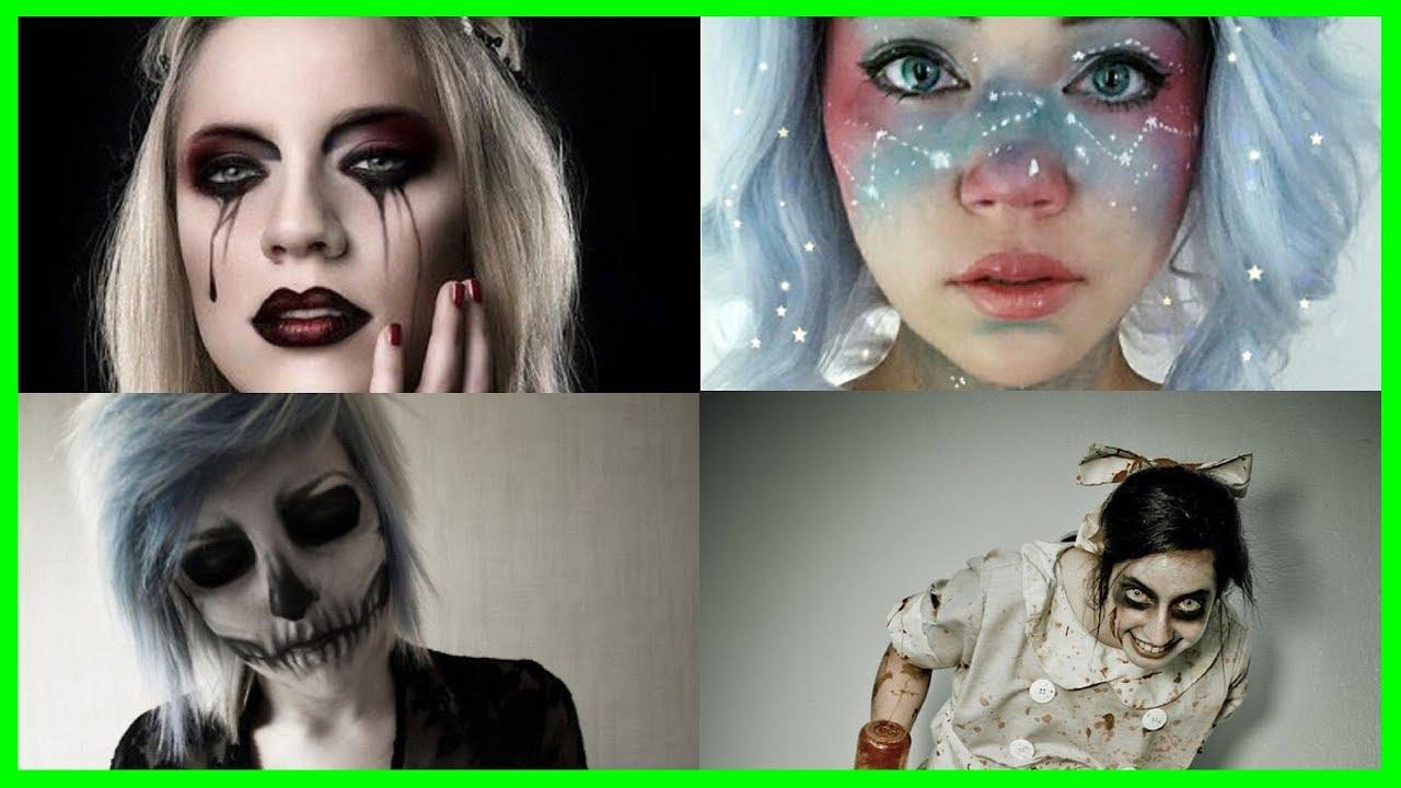 halloween makeup for girls and beginners 2017 halloween makeup horror and ghost - Halloween Makeup For Beginners