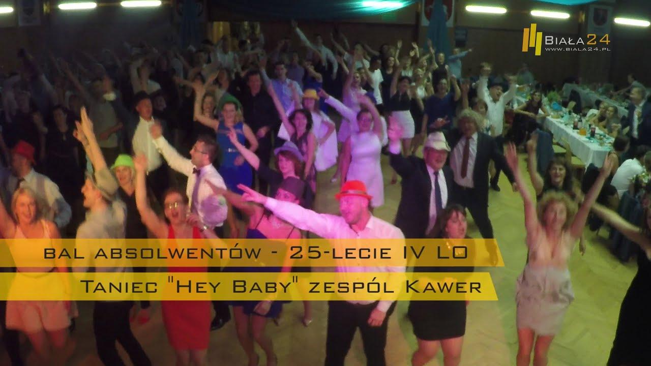 a4b70ce4 Bal absolwentów 25-lecie Staszica - Taniec Hey Baby Zespół Kawer