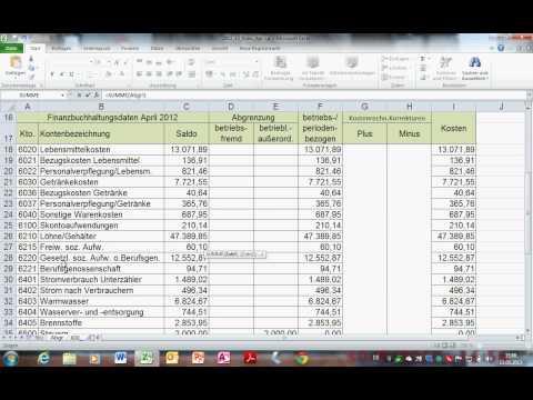 ABC-Analyse mit Excel - geschachtelte WENN-Funktion, SUMMEWENN, bedingte Formatierung...из YouTube · Длительность: 14 мин4 с