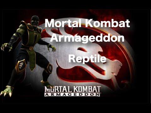 Mortal Kombat Armageddon - Reptile Playthrough