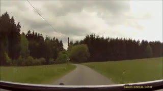 Autofahrt im Odenwald/HP:  Hammelbach ---:--- Tromm