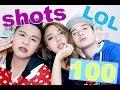100 Shots Challenge (WALWAL w/ the Mamshies) Josko! HAHAHA!!!