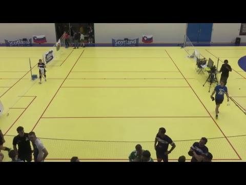 Court 1 Day 1 European Dodgeball Championships 2017