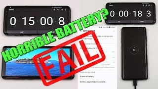 Samsung Note 8 Battery Life Test Review! (Drainage Charging Real World Usage) [4K]