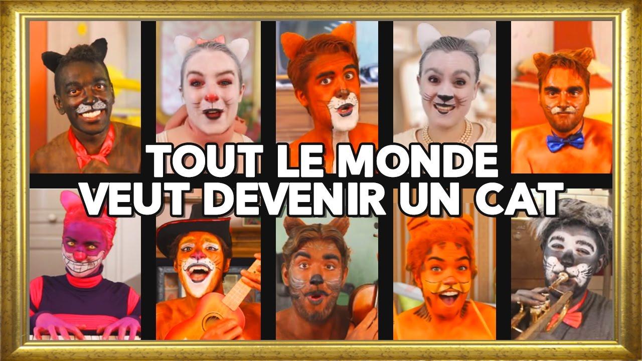 Tout le monde veut devenir un cat / Everybody wants to be a cat - Aristochats French Cover