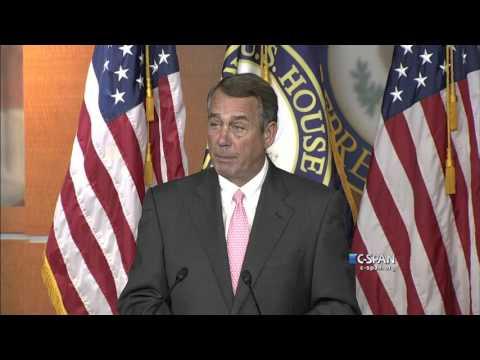 John Boehner resigns as Speaker of the House