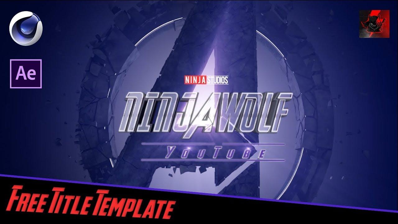 Avengers endgame font photoshop