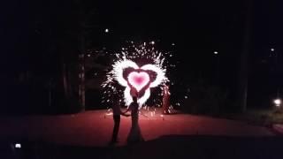 Фейерверк на свадьбу в Самаре и Тольятти.