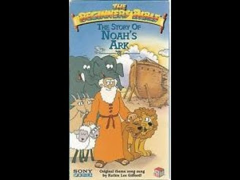& Closing To The Beginners Bible:The Story Of Noah's Ark 1995 VHS
