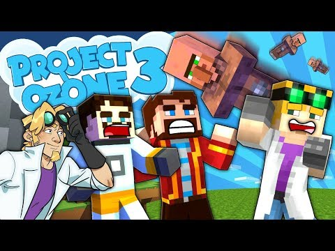 Minecraft Project Ozone 3 – RAINING VILLAGERS #51