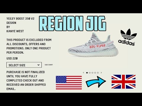 Adidas Yeezy Splash Page Region Jig In Depth Tutorial **COP A LOT OF YEEZY'S**