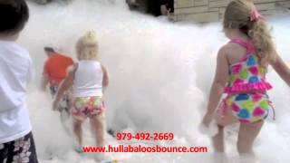 Foam Parties by Hullabaloos