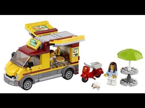 Lego City 60150 Foodtruck Z Pizzą Recenzja Pl Youtube