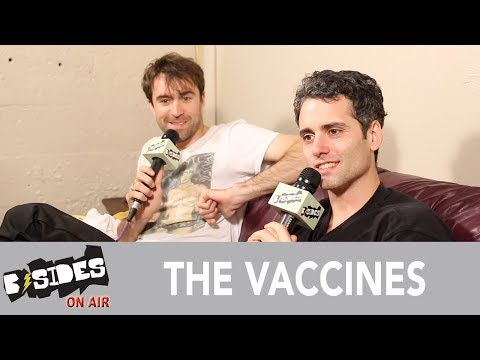 B-Sides On-Air: Interview - The Vaccines Talk 'Combat Sports', Socio-political Obligations