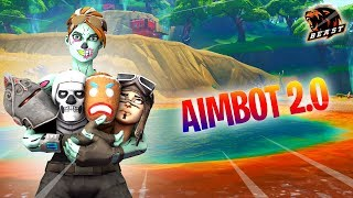 THE AIM THOUGH! | AIMBOT 2.0 | SOUL TAKERS | FORTNITE INDIA | @FearChronic #ChronicRC