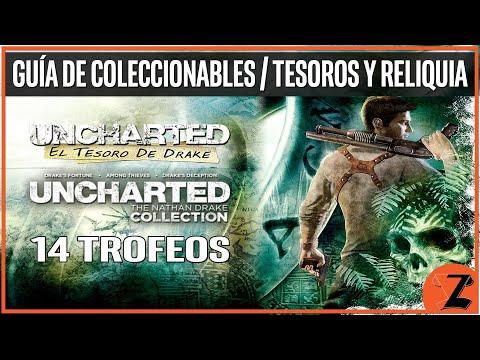Uncharted: El Tesoro de Drake - Guía de Coleccionables (Tesoros y Reliquia)