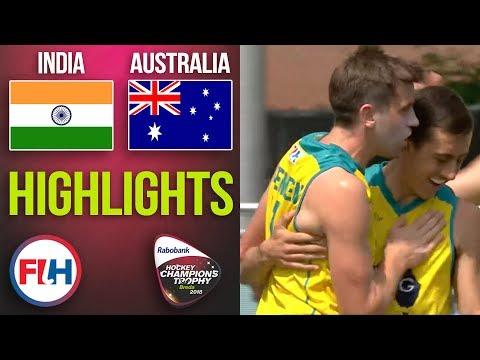 Australia V India | 2018 Men's Hockey Champions Trophy | HIGHLIGHTS