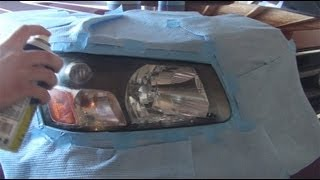 How to Protect Your Headlights for $10  with Plastidip