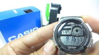 đồng hồ casio standard ae 1000wd 1avdf