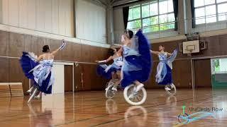 UniCircle Flow :  Fantasy on Ice  (Quartet) 一輪車演技 Unicycle Dance