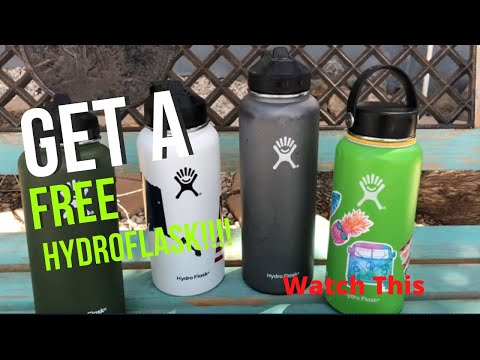 How to get a new Hydroflask for Free