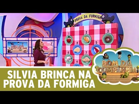 Bom Dia E Cia (15/04/16) - Silvia Abravanel Brinca Na Nova Prova Da Formiga