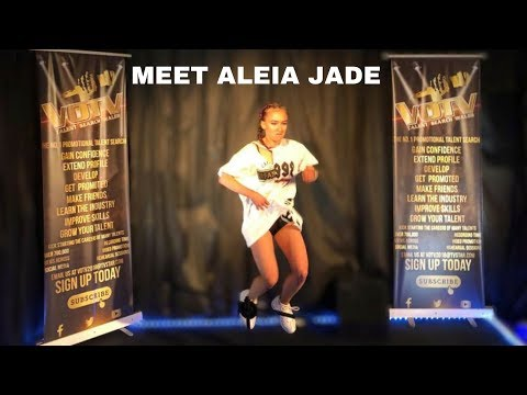"""""""Aleia Jade"""" performs her Urban Mash Up @VOTV Talent Search Wales (Attendance Day)"""